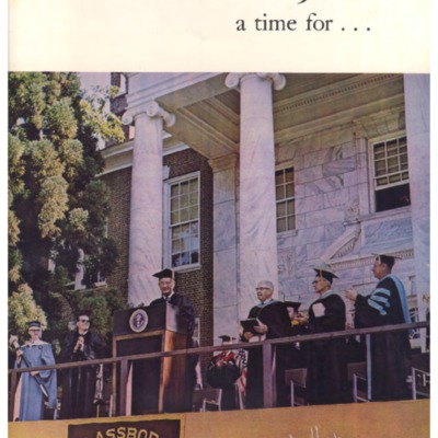 Glassboro State Graduation Program 1968